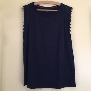 Banana Republic Embroidered Tank